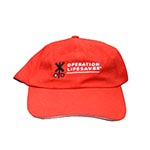 Cap-6 panel,unstrct Red