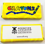 CRAYONS, 4-PACK