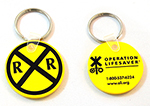 KEY TAGS, YELLOW